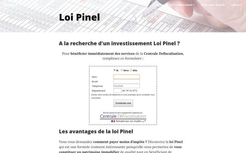 Investissement immobilier, pourquoi choisir la Loi Pinel ?